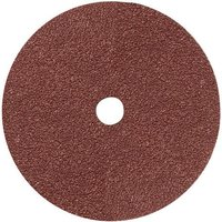 National Abrasives Fibre Backed Alu  Oxide Sanding Disc   180mm  24 Grit