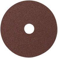 National Abrasives Fibre Backed Alu  Oxide Sading Disc 115mm  24 Grit