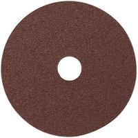 National Abrasives Fibre Backed Alu  Oxide Sading Disc 115mm  80 120 Grit