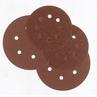 Machine Mart 50 Alu. Oxide 8-Hole Sanding Disc 125mm Dia. -Med.