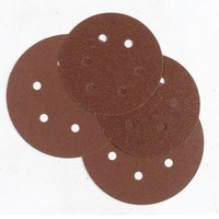 Machine Mart 50 Alu. Oxide 6-Hole Sanding Disc 150mm Dia. - Med
