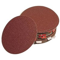 National Abrasives Alu. Oxide Self Adhesive Discs - 150mm, 80 Grit