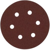 National Abrasives Alu  Oxide  Hook   Loop 150mm Sanding Discs   Fine