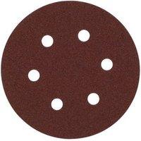 National Abrasives Alu  Oxide  Hook   Loop 150mm Sanding Discs Medium