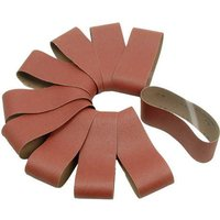 National Abrasives Aluminium Oxide Sanding Belts   100x610mm 60 Grit  Pk10