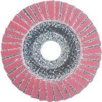 National Abrasives Ceramic & Zirconium 115m Flap Disc Grit 80