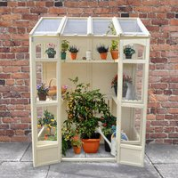 Machine Mart Xtra Forest Victorian Tall Wall Greenhouse