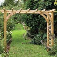 New Forest 245x270x136cm Large Ultima Pergola Arch
