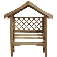 New Forest 199x170x70cm Sienna Arbour