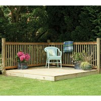 Forest Forest 130x249x244cm Patio Deck Kit