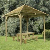Machine Mart Xtra Forest 331x293x293cm Venetian Pergola With