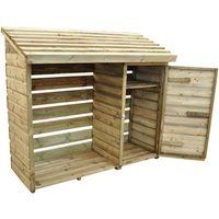 Machine Mart Xtra Forest 152x176x69cm Log & Tool Store