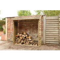 Forest Forest 195x183x84cm Wall Log Store