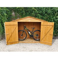 Machine Mart Xtra Forest Timber Bike Store (Assembled)