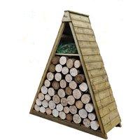 Machine Mart Xtra Forest 183x149x65cm Pinnacle Log Store