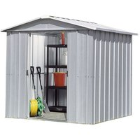 Machine Mart Xtra Yardmaster 6 8 x 4 6 Metal Shed