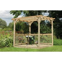 Machine Mart Xtra Forest 2.4m Ultima Pergola Deck Kit