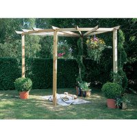Machine Mart Xtra Forest 90 Degree Radial Pergola