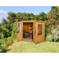 Click to view product details and reviews for Machine Mart Xtra Forest Cranbourne Corner Summerhouse Assembled.