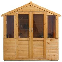 Forest Forest Barleywood 7x5 Summerhouse (Assembled)