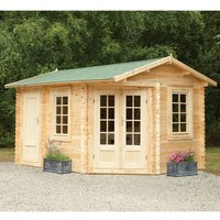 Forest Forest 4 x 2.8m Pickering Log Cabin