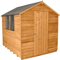 Forest Forest 6x8ft Apex Overlap Dipped Shed