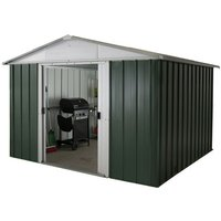 Yardmaster Yardmaster 108geyz 10ft X 8ft Apex Metal Shed
