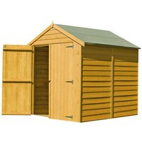 Shire Shire 6 x 6 Overlap Apex Double Door Shed