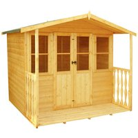 Shire Shire Houghton 7 x 7 inc Veranda Summer House