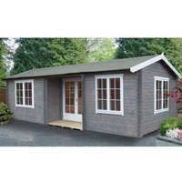 Shire Shire Elveden 14 x 26 Log Cabin