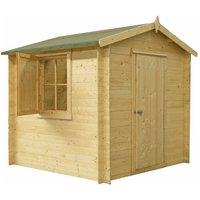 Click to view product details and reviews for Shire Shire Camelot 8 X 8 Wooden Cabin.