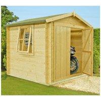 Shire Shire Bradley 9 x 9 Wooden Cabin