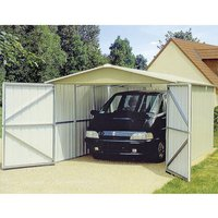 Machine Mart Xtra Yardmaster Metal Storage Building/Garage 2.97M x 5.22M