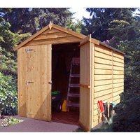 Shire Shire 6 x 8 Overlap Double Door Shed