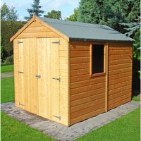 Machine Mart Xtra Shire 8 x 6 Shiplap Double door Shed