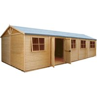 Shire Shire 10' x 25' Mammoth Super heavy Duty Workshop