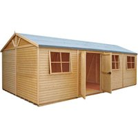 Shire Shire 12' x 24' Mammoth Super heavy Duty Workshop