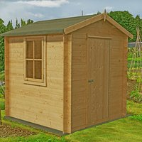Click to view product details and reviews for Machine Mart Xtra Shire 7 X 7 Danbury Log Cabin.