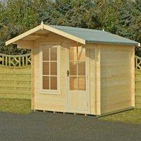 Machine Mart Xtra Shire 7 x 7 Crinan Log Cabin
