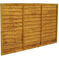 Forest Forest 6x4ft Trade Lap Fence Panel 10 Pack