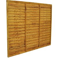 Forest Forest 6x5ft Trade Lap Fence Panel 10 Pack