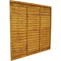 Forest Forest 6x6ft Trade Lap Fence Panel 3 Pack