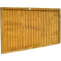 Forest Forest Closeboard 6x3ft Fence Panel 5 Pack