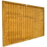 Forest Forest Closeboard 6x4ft Fence Panel 5 Pack