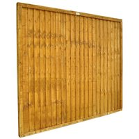 Forest Forest Closeboard 6x5ft Fence Panel 10 Pack