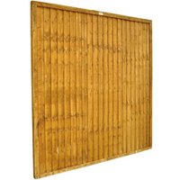 Forest Forest Closeboard 6x6ft Fence Panel 10 Pack
