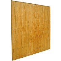 Forest Forest 6x6ft Feather Edge Fence Panel 10 Pack