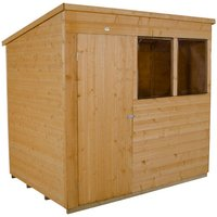 Click to view product details and reviews for Forest Forest 7x5ft Pent Shiplap Dipped Shed Assembled.