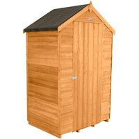 Forest Forest 4x3 Apex Overlap Dipped Shed (Assembled)