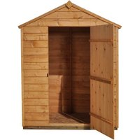 Forest Forest 5x3ft Apex Overlap Dipped Shed Assembled